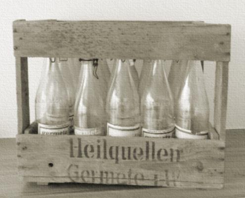 Alte Germeta Flaschen