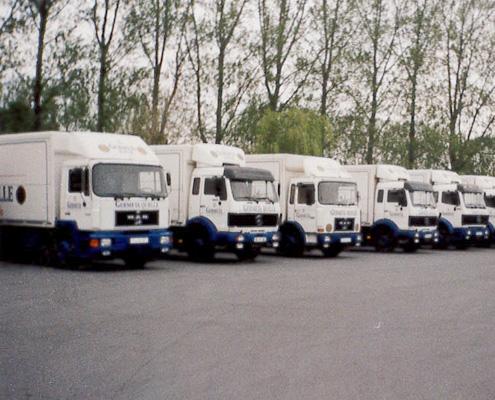 LKW Flotte Germeta